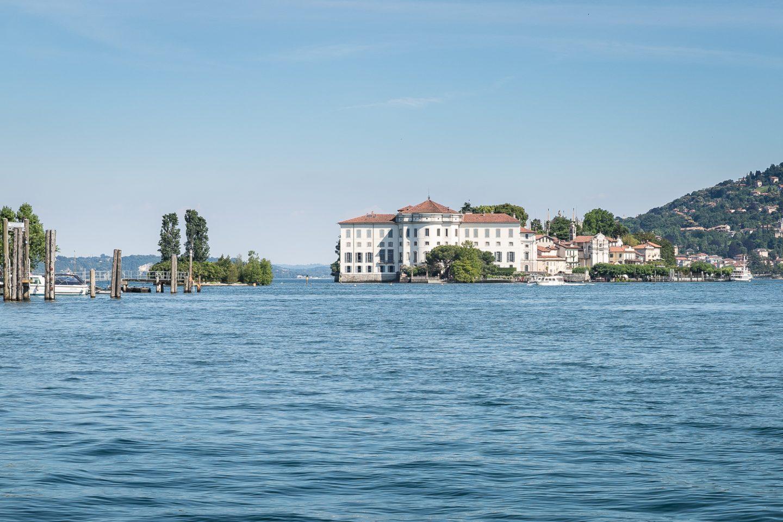 Vista da Isola Pescatori, Isole Lago Maggiore