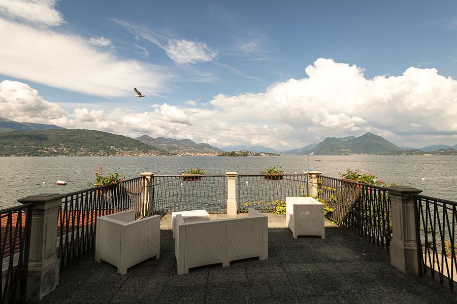 Camera terrazza panoramica Lago Maggiore, Isola dei Pescatori