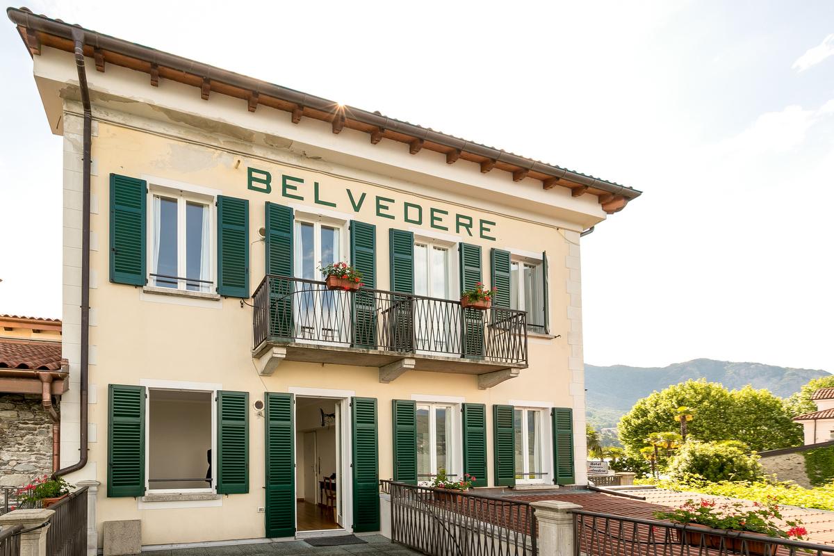 Camera terrazzo panoramico sul Lago Maggiore, Isola dei Pescatori