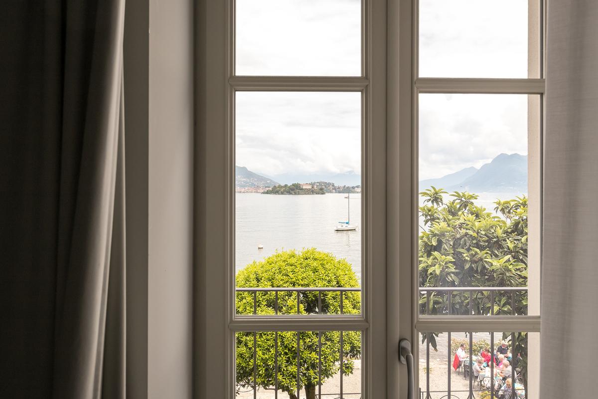 Camere vista Lago Maggiore